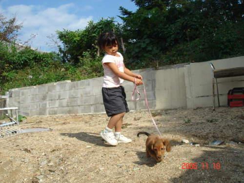 2007/11/10 初お散歩