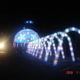 光のトンネル in 阿南の夏祭り2
