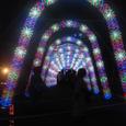 光のトンネル in 阿南の夏祭り