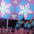 LEDマンダラドーム in阿南夏祭り